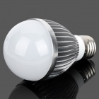 ZiYu ZY057 E27 5W 480lm 6000K White 5-LED Light Bulb - Silver (85~250V)