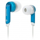 Senmai SM-SE837 Stylish In-Ear Earphones - Blue + White (3.5mm Plug / 120cm)