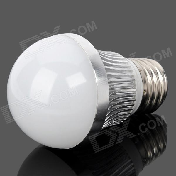 SENCART E26 6W 540lm 6500K White 12-SMD 5730 LED Light Bulb - Silver (85~265V) lexing lx r7s 2 5w 410lm 7000k 12 5730 smd white light project lamp beige silver ac 85 265v