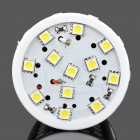 E27 14W 850LM 7000K Cold White Light 72*SMD 5050 LED Corn Bulb (12V)