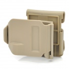Nylon Resin Clip Holster for G17 / G18 - Pebble Grey