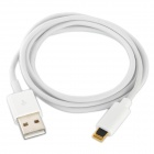Gold Plated 8-Pin Lightning Male to USB Male Data Charging Cable for iPhone 5 / Mini iPad (1m)