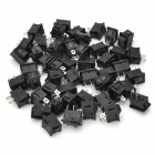 KCD1-101 Electrical Power Control 2-Pin Rocker Switches (50-Piece Pack)