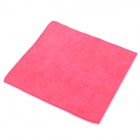 Square Bamboo Charcoal Fibre Non Fade Towel - Red