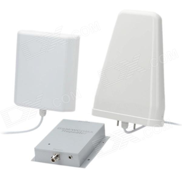 ET-999 GSM / WCDMA Mobile Phone Signal Repeater Booster Amplifier - Silver