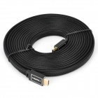 HDMI 1.4 Male to Male Flat Cable - Black (5m)