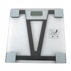 """V"" Pattern ABS Plastic 2.4"" LCD Digital Scale - Black (2 x AAA)"