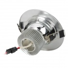 "2.5"" 3W 270lm 3500K Warm White 6-SMD 5730 Ceiling Lamp w/ Driver - Silver (AC 89~265V)"