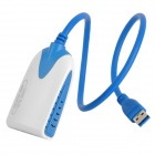 USB 3.0 Male to HDMI Female 1080p Audio Video Display Adapter - Blue (40cm-Cable)