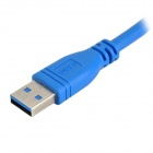 USB 3.0 macho a hembra adaptador HDMI 1080p Audio Video Display - Azul (40cm cable)