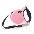 Retractable Pet Dog Leash w/ Control Button - Pink (3M)