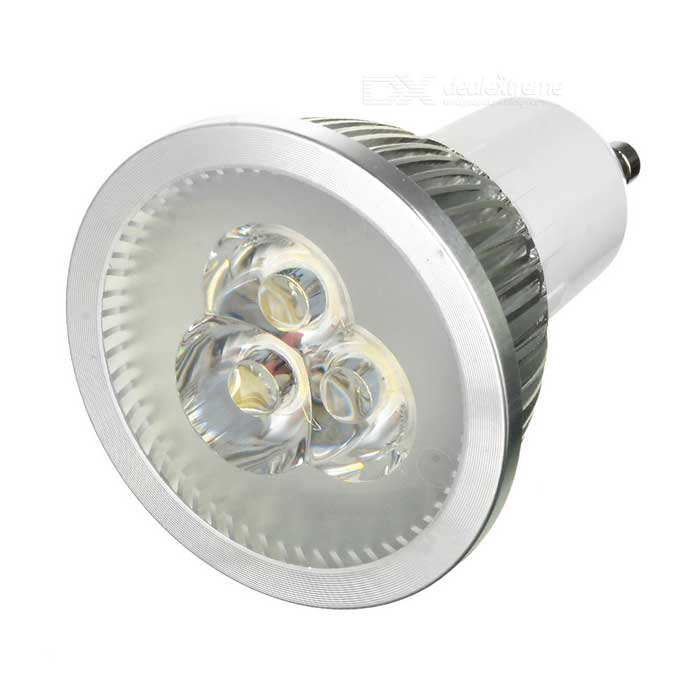 GU10 3W 280LM 3000K Warm White Light 3-LED žárovka Cup (AC 85 ~ 250V)