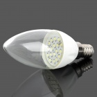 E14 2W 108lm 6500K White 18-LED Light Bulb - White (85~265V)