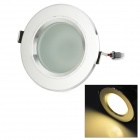 3'' 3W 270lm 3500K 6-SMD White Light LED Ceiling Lamp w/ Driver - Silver (AC 85~265V)