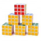 8061 3x3x3 Brain Teaser Magic IQ Cube - Multicolored (6 PCS)