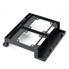 "ORICO BRP525-2S ABS 5.25"" HDD to 2.5"" / 3.5"" Drive Slot Rack Bracket Adapter for Desktop PC - Black"