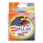 0.6mm 100M Abrasion Resistance Fishing Line / Thread - Transparent
