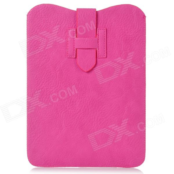 Protective PU Leather Sleeve Case for Ipad MINI - Deep Pink