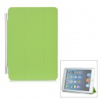 Folding Protective Plastic Smart Cover for iPad Mini - Green