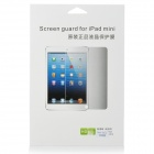 Protective Clear PE Screen Protector Guard Film for Ipad MINI - Transparent