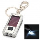 iwoo iwoo-047 Man's Multi-Functional Keychain w/ Solar LED / Knife Tools - Silver