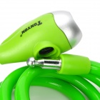 Tonyon Excellent Universal Steel Rope Lock for Bike / Warehouse + More - Green