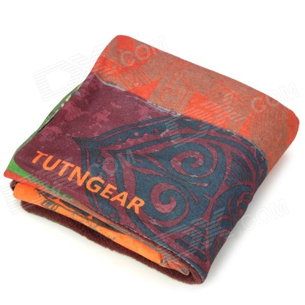 Tutngear Outdoor Cycling Multifunction Seamless Head Scarf - Coffee + Multicolor