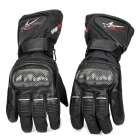PRO-BIKER HX-05 Professional Cycling Race Full Finger Protective Warm Gloves - Black (Size L / Pair)