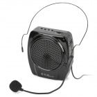 New Online N-93 Multi-Functional 2-Channel Media Player Speaker w/ TF / FM / Microphone - Black