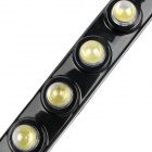 12W 650lm 12-LED White Light Fish Eye Car Daytime Running Lamps (DC 12V / 2 PCS)
