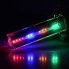 Waterproof Light Activated 16-LED Colorful Light Bike Wheel Lamp (3 x AAA)
