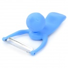 Swimming Baby Style Kitchen Fruit Vegetable Peeler - Blue