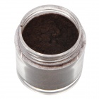 BK BK-17 Flocking Velvet Manicure Art Polish Nail Powder - Deep Coffee