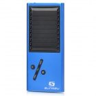 Solar Powered MP3 Music Player with FM / TF / USB / LED Indicator - Blue + Black
