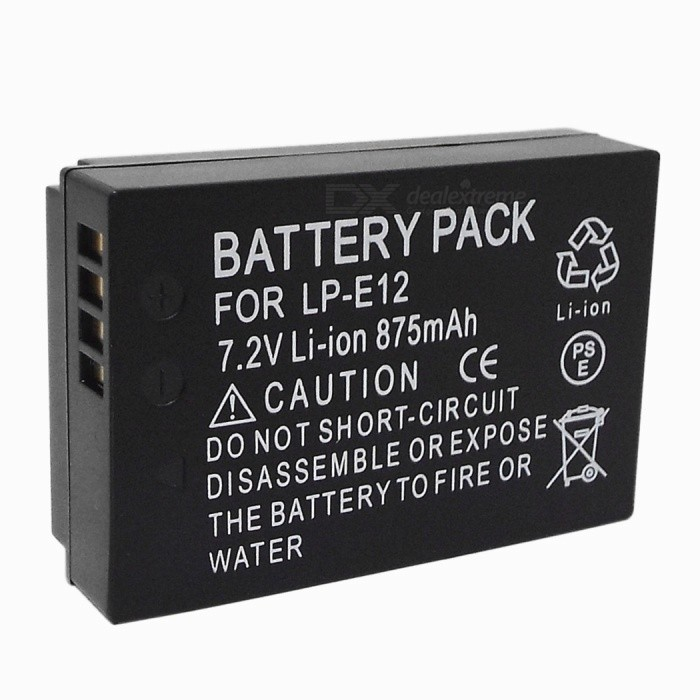 DIGITAL Replacement LP-E12 875mAh Li-ion Battery for Canon Camera partners lp cd