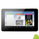"PIPO S1 7"" Capacitive Screen Android 4.1 Dual Core Tablet PC w/ TF / Wi-Fi / Camera / HDMI - Black"
