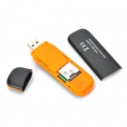 7.2Mbps 3G USB Wireless Modem Adapter w/ TF Card Slot - Black + Orange