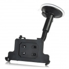 360 Degrees Swivel Car Mount Holder with Suction Cup for Iphone 5 - Black