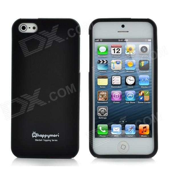 Happymori Protective Matte Screen TPU Case for iPhone 5 - Black