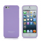 Happymori Protective Matte Bildschirm TPU Case für iPhone 5 - Purple