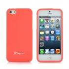 Happymori Protective Matte Bildschirm TPU Case für iPhone 5 - Watermelon Red