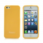 Happymori Protective TPU Soft Case for iPhone 5 - Yellow
