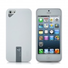 Creative Protective Plastic Back Case w/ 4GB USB Flash Drive for iPhone 5 - White