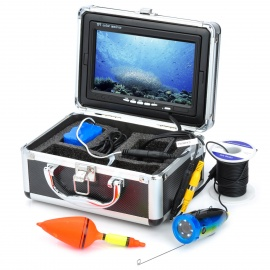 """GSY7000 7"""" Color TFT Underwater Fish Finder Video Camera Monitor Standard Set w/ 15m Cable – Black"""