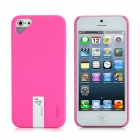 Creative Protective Plastic Back Case w/ 4GB USB Flash Drive for iPhone 5 - Deep Pink