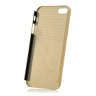 Protective Aluminum Alloy Mesh Case for Iphone 5 - Golden