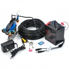 "GSY8000ADVR 7"" TFT Underwater Fish Finder Video Camera DVR Luxury Set w/ 20m Cable / Case - Black"