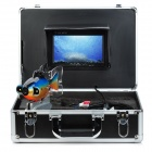 "GSY8000 7"" Color TFT Underwater Fish Finder Video Camera Luxury Set w/ 20m Cable / Case - Black"