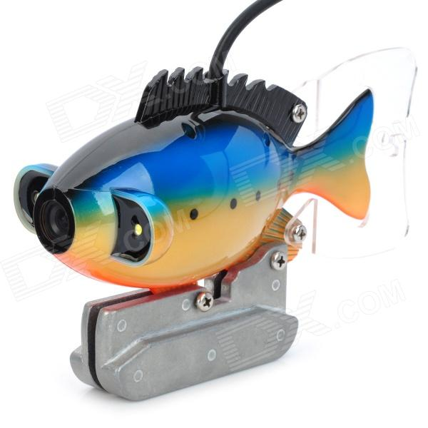 Gsy8000 7 color tft underwater fish finder video camera for Best underwater fishing camera