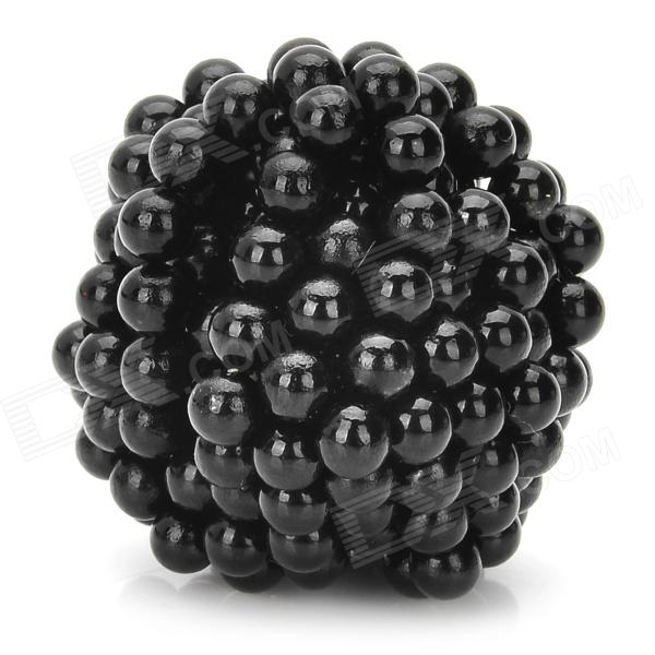 5mm Neodymium Magnet Sphere DIY Puzzle Set - Black (216 PCS)